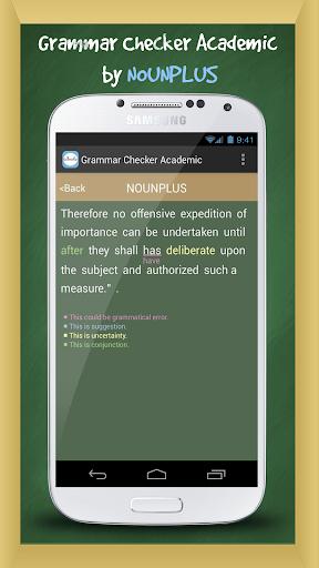 【免費教育App】英語文法檢查程式 Academic-APP點子