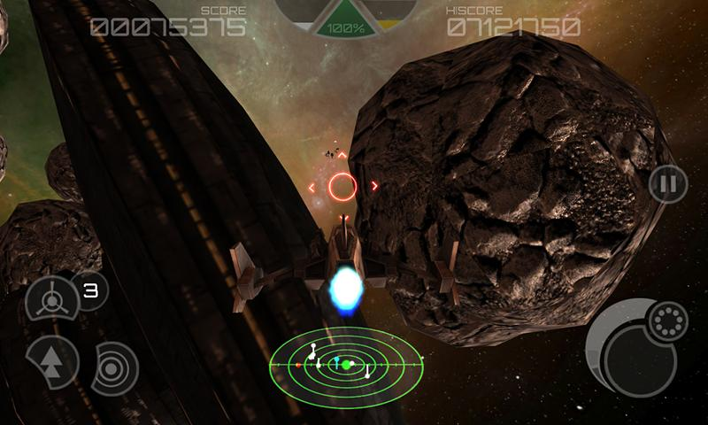 Asteroid 2012 3D HD - screenshot