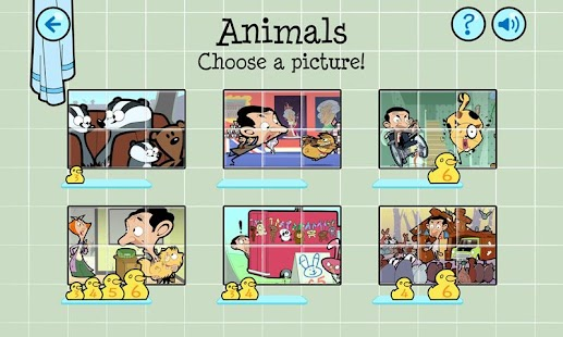 Mr Bean Slider Puzzle - screenshot thumbnail