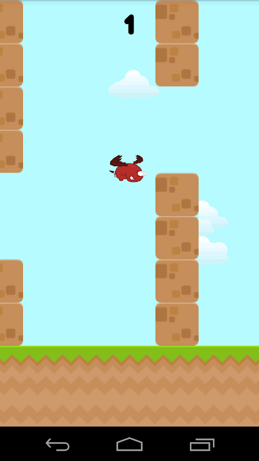 Flappy Fluffy - screenshot