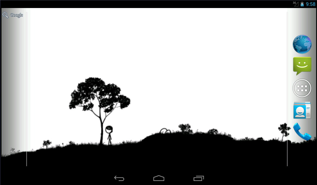 xkcd Time Live Wallpaper - screenshot