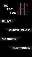 Screenshot of 2 Player: Tic Tac Toe