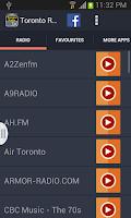 Screenshot of Toronto Radio