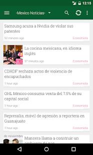 México Noticias - screenshot thumbnail