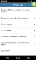 Screenshot of Cancer Therapy Advisor
