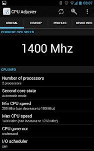 CPU Adjuster v3.1.121 (pro)