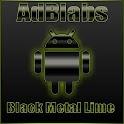 Next Launcher 3D Black Lime HD icon