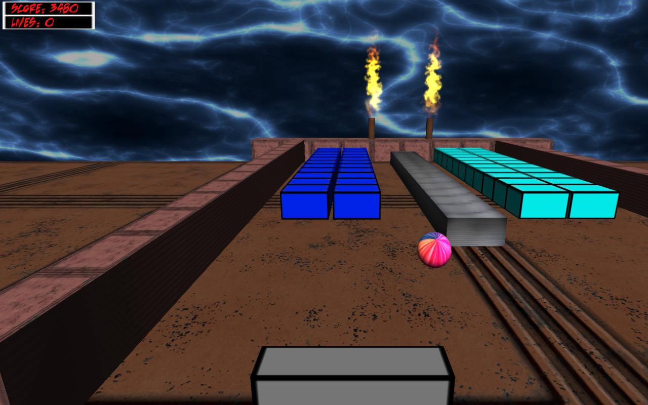 Atomic Brick Breaker 3D - screenshot
