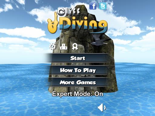 Cliff Diving 3D Free screenshot