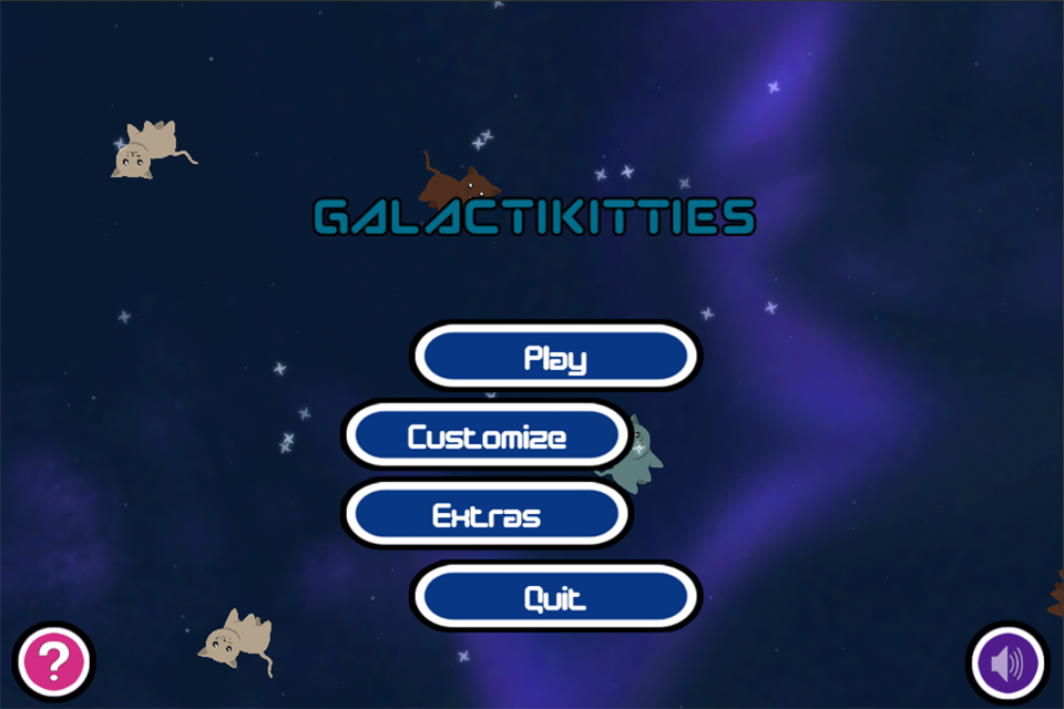Galactikitties- screenshot