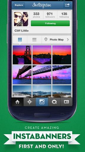 InstaBanner Lite for Instagram