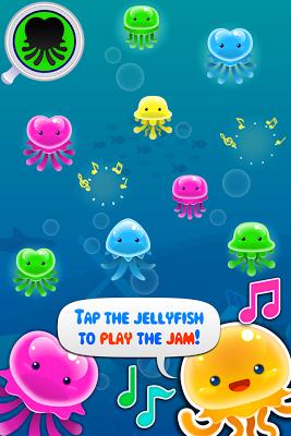 Jam that Jelly - Music and Dancing in The Ocean! - screenshot