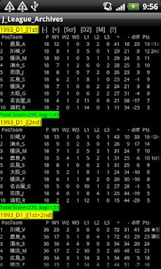 サッカー J1 & J2 データベースのおすすめ画像3