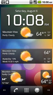 Fancy Widgets- screenshot thumbnail