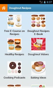Doughnut Recipes - screenshot thumbnail