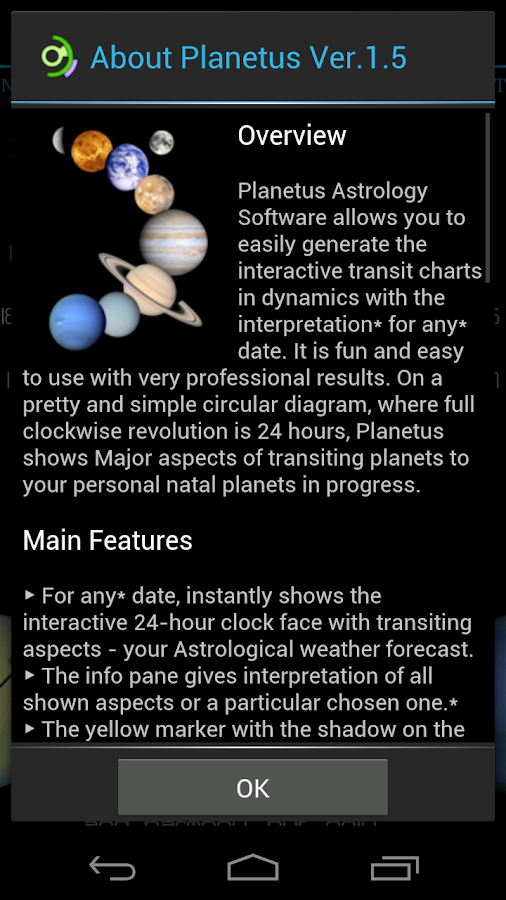 Planetus Astrology Free- screenshot