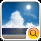 BEACH  Search Widget icon