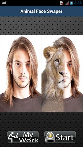 动物的脸交换技术