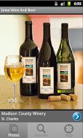 Screenshot of Iowa Wine & Beer