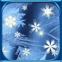 Winter Snowflakes Free LWP icon