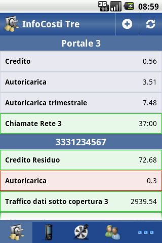 InfoCosti Tre - screenshot