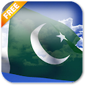 3D Pakistan Flag LWP icon