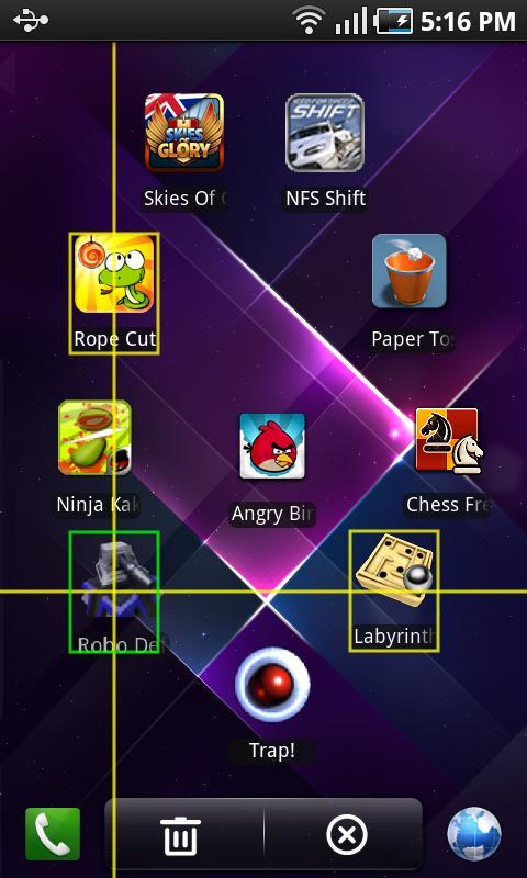 Regina 3D Launcher Pro - screenshot
