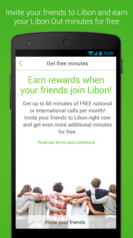 Libon – Free Calls & Voicemail - screenshot
