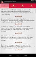 Screenshot of Felicitaciones navideñas