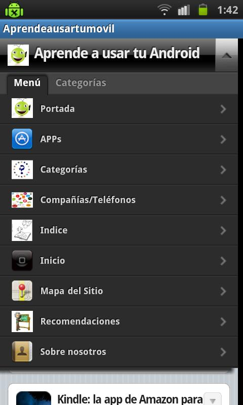 Aprende a usar tu movil- screenshot