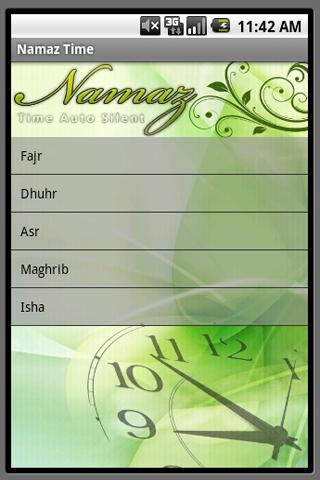 Silent Phone During Namaz - screenshot