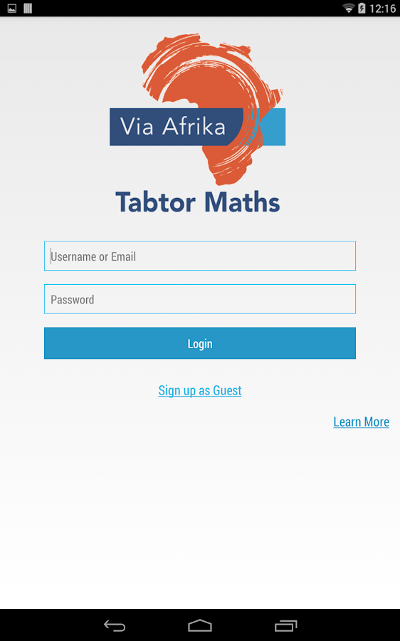 Tabtor Maths- screenshot