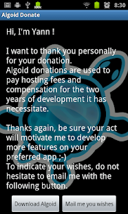 Algoid - Donate- screenshot thumbnail