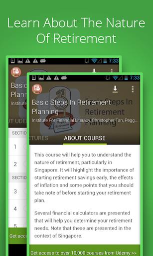 Retirement Planning Course