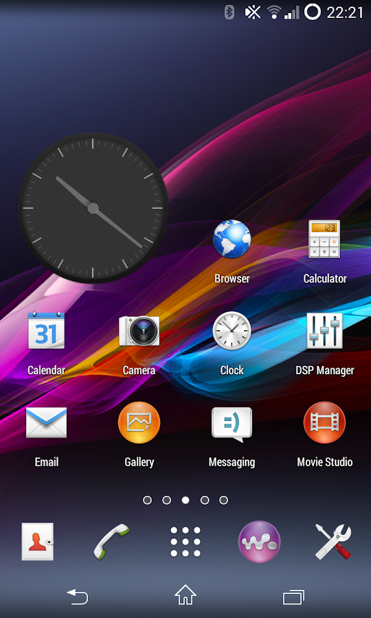 CM11 CM10 Sony XPERIA Z theme - screenshot