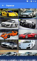 Screenshot of Car Quiz