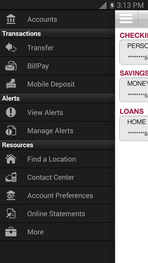 Bank of Arizona Mobile - screenshot