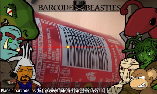 Barcode Beasties - screenshot thumbnail