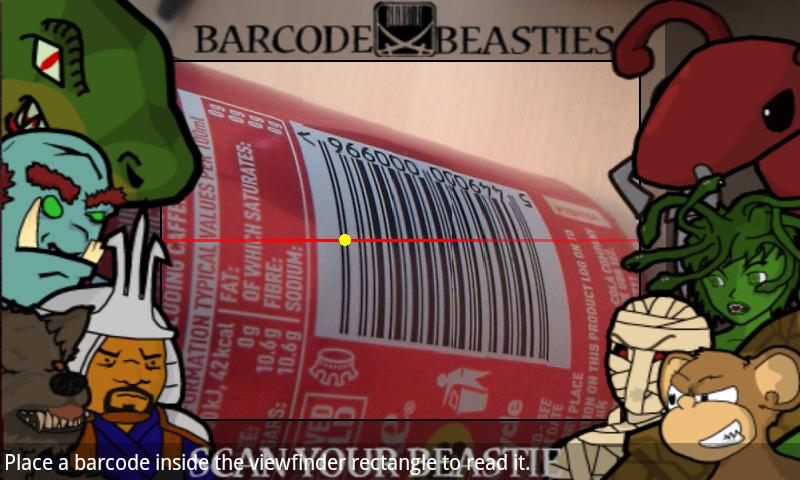 Barcode Beasties - screenshot