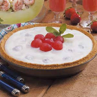 Creamy Watermelon Pie.