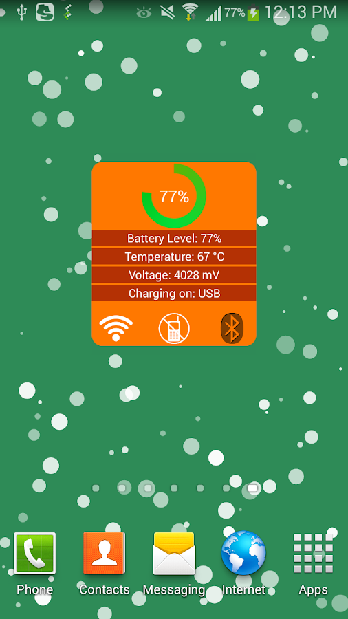 Windows 8 1 Set Battery Charge Level : Battery status widget android apps on google play
