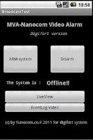 Screenshot of Digifort - MVA - (Old Version)