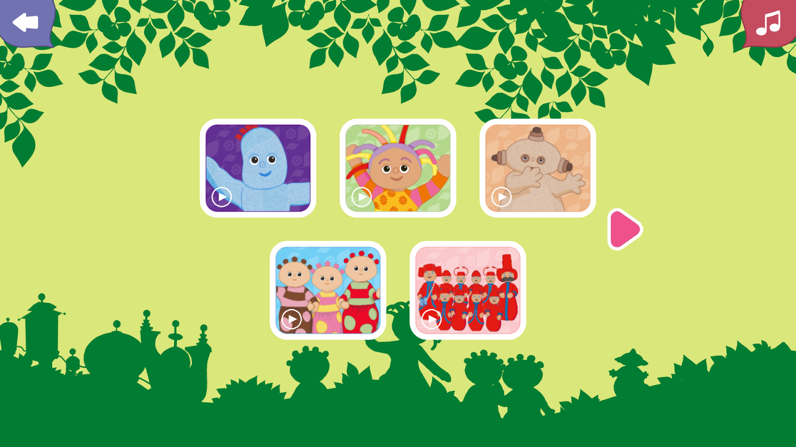 In The Night Garden Web App Android Apps on Google Play