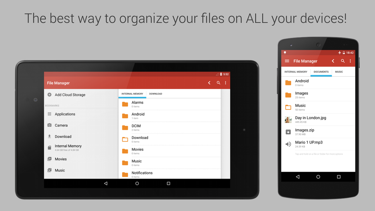 File Manager - screenshot