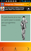 Screenshot of Imagenes Chistosas con Frases