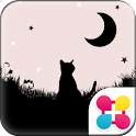 Moonlight Cat for[+]HOME icon
