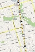 Screenshot of TTC Toronto Bus Tracker  Pro