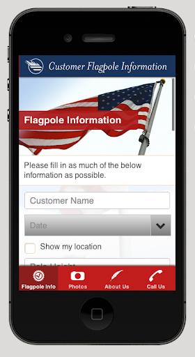 Customer Flagpole Information