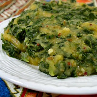 Kale and Toor Dal.