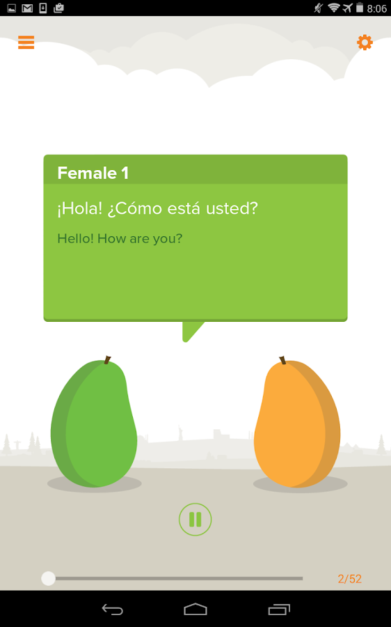 Mango Languages - screenshot